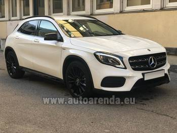 Аренда автомобиля Mercedes-Benz GLA 200 в Вене