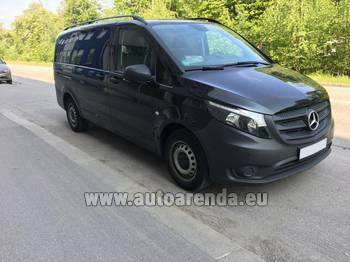 Аренда автомобиля Mercedes-Benz VITO Tourer, 9 мест в Вене