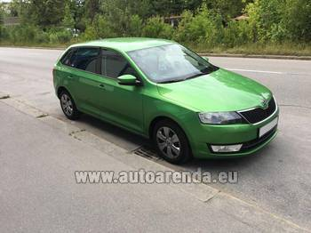 Аренда автомобиля ŠKODA Rapid Spaceback в Клагенфурт-ам-Вёртерзе