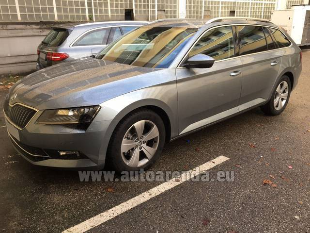 Аренда авто ŠKODA Superb Универсал в Австрии