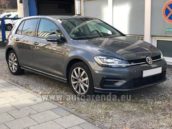Аренда автомобиля Volkswagen Golf 7 в Кицбюэле