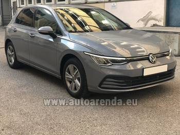 Аренда автомобиля Volkswagen Golf 8 в Кицбюэле