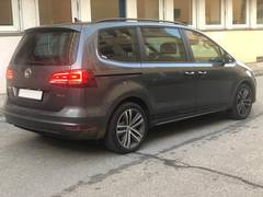 Автомобиль Volkswagen Sharan 4motion для аренды в Инсбруке