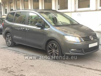 Аренда автомобиля Volkswagen Sharan 4motion в Штайре